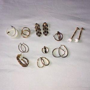 Vintage 💎 10 Earring Bundle!
